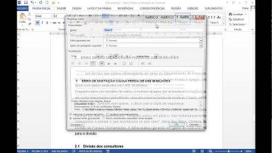 Vídeo Aula - Formatação trabalhos Normas ABNT