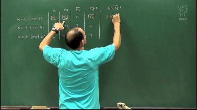 Aritmética - Aula 59 - Apresentação do algoritmo chinês do resto