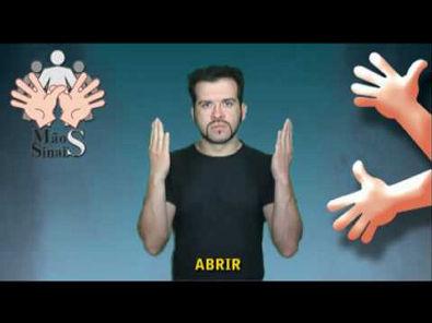 Aprenda LIBRAS com eficiência e rapidez (vocabulários básicos)