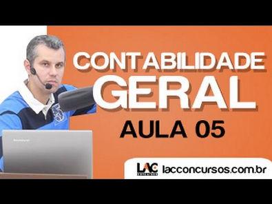 Aula 05 - Contabilidade Geral Método das Partidas Dobradas - Claudio Cardoso