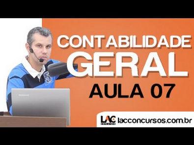 Aula 07 - Contabilidade Geral - Atos Administrativos X Fatos Contabeis - Claudio Cardoso