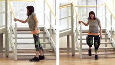 Locked KAFO vs. C-Brace- Orthotronic Mobility System
