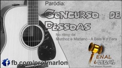 Concurso de Pessoas - Ritmo de A bela e o Fera (Munhoz e Mariano) -Marlon Ricardo