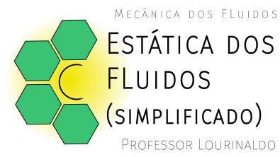 Estática dos fluidos - cálculo da pressão.