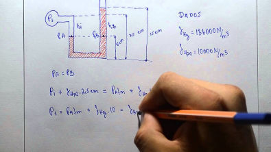 Mecânica dos fluidos - Estática dos fluidos 01