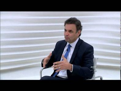 Aécio Neves - Sobre a flexibilização das Leis Trabalhistas