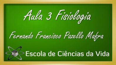 Fisiologia: Aula 3 - Fisiologia celular - comportamento dos líquidos e solutos na célula