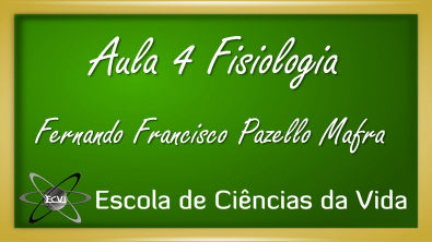 Fisiologia: Aula 4 - Fisiologia celular - Equilíbrio eletroquímico da célula