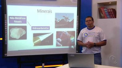 Minerais e Rochas