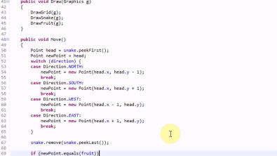 Making Snake in Java: Part 4 - Making the Applet and Getting Input