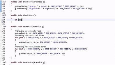 Making Snake in Java: Part 8 - Managing High Scores