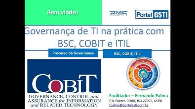 Governança de TI na prática, com BSC, COBIT e ITIL