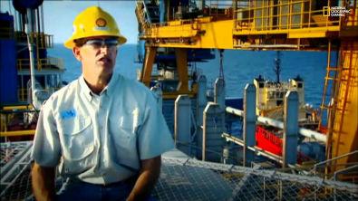 Gigante da Engenharia - Plataforma de Petróleo