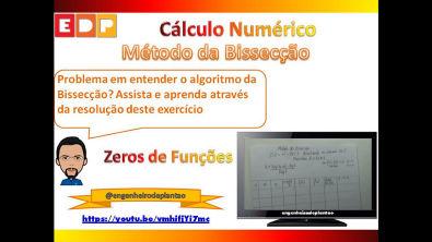 [Cálculo Numérico]: Método da bissecção