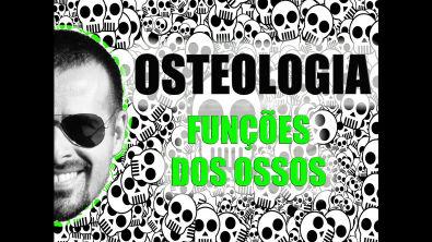 Vídeo Aula 007 - Osteologia/Sistema Ósseo (esquelético): Funções dos ossos