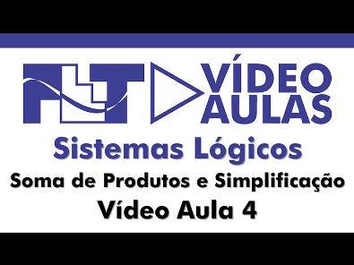 Sistema Lógicos - Soma de Produtos e Simplificação de Circuitos Lógicos- Vídeo Aula 4