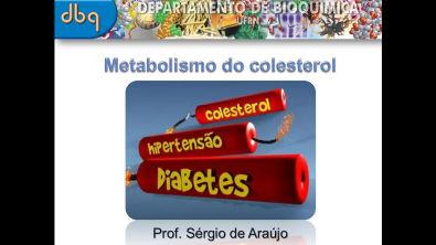 Curso de Bioquímica: Metabolismo do colesterol