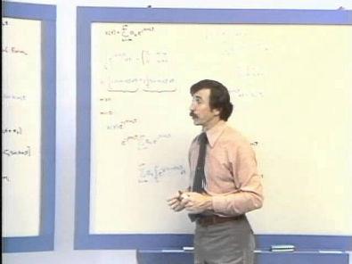 Vídeo aula de Séries de Fourier dadas por Oppenheim