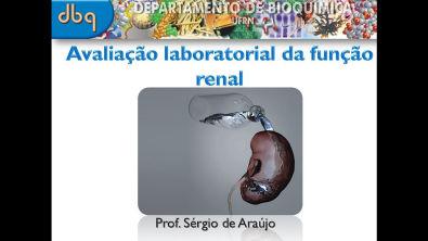 Bioquímica Clínica: Avaliação laboratorial da função renal