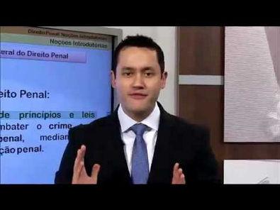 Livro-Aula: Direito Penal Esquematizado - Parte Geral - Aula 1 - Noções Introdutórias