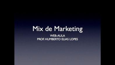 Web-aula 2 - Mix de marketing - Administração Estratégica e Logística PUC Minas Virtual