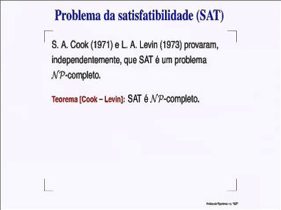 Análise de Algoritmos - Problemas NP-Completos