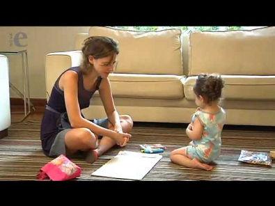 A conversa com bebês e crianças pequenas