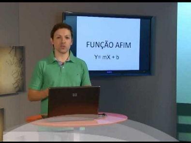 Reforço Cálculo I - FUNÇÃO AFIM