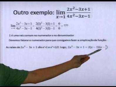 Reforço Cálculo I - LIMITES (Cálculos) com o Prof. Rodrigo Braga