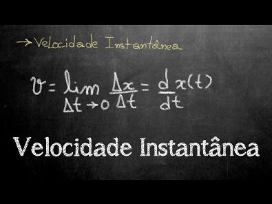 Aula 3 - Velocidade Instantânea (v=dx/dt)