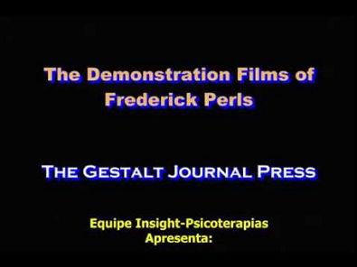 Demonstração de Atendimento de Fritz Perls 2 (legendado pt-br)