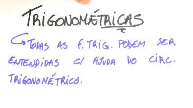 Funções trigonométricas - Teoria