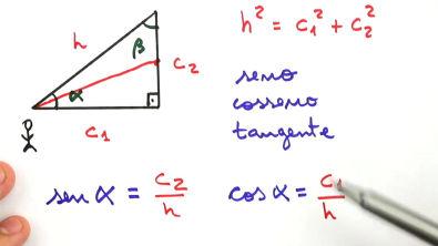 Seno, cosseno e tangente - Teoria