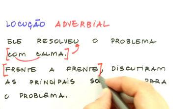 Advérbio e interjeição - Teoria