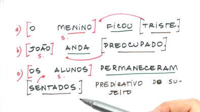 Verbos de ligação e predicativo do sujeito - Teoria