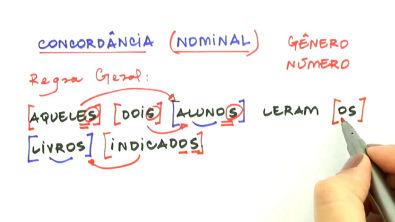 Concordância nominal - Teoria