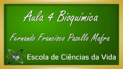 Bioquímica: Aula 4 -Sistemas tampão