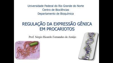 Curso de Bioquimica: Regulação da expressão gênica em procariotos