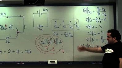 Resolvendo Circuitos Eletricos sem Formula - Resolução Questão 1 - prof Renato Brito