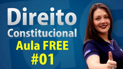 Direito Constitucional #01 - Aula Gratuita - Princípios Fundamentais - AlfaCon
