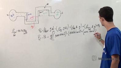 Diferença de pressão entre duas tubulações - Teoria