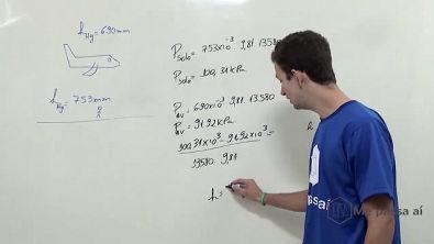 Relação de pressão barométrica - Teoria