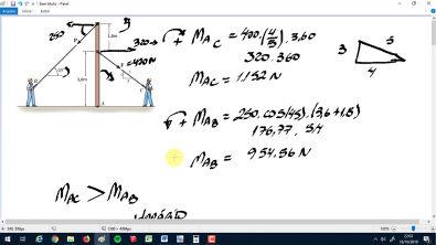 4.4 e 4.5 - Estática Mecânica para engenharia Hibbler 12 Ed