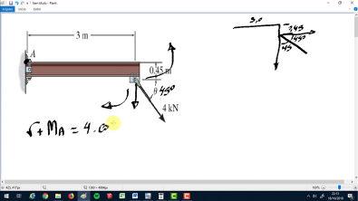 4.6 - Estática Mecânica para engenharia Hibbler 12 Ed