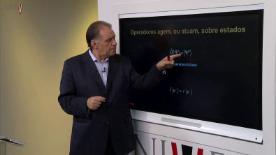 Física Quântica - Aula 16 - Estados quânticos e amplitudes de probabilidade