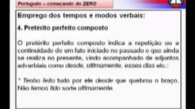 Aula 07.1   Morfologia Verbal   Rodrigo Bezerra (21092011) [Alta qualidade e tamanho]