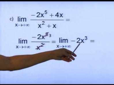 Reforço Cálculo I - LIMITES (infinitos e no infinito) com o Prof. Marcelio Adriano Diogo