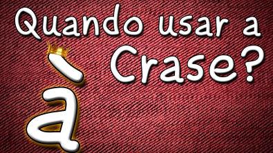 Quando usar a Crase? - Aula gratuita de Português para Vestibular Enem e Concursos Língua portuguesa
