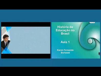 História da Educação no Brasil - Aula 1
