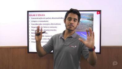 Geografia - Fontes de energia - Energias renováveis